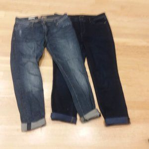 2 PAIR Size 6 Jeans Talbots/Kut from Kloth